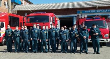 Отец Иларион отслужил молебен в пожарной части Краснодара