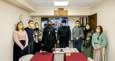 Встреча молодежи благочиния с протоиереем Дмитрием Рудневым